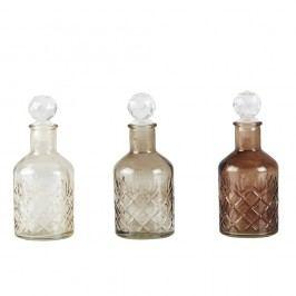 Sada 3 lahví s uzávěrem KJ Collection Cubes