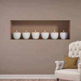 3D samolepka na zeď Ambiance Candles Tapety análepky