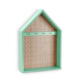 Zelený věšák na klíče Versa Green  Obrazy, rámy atabule