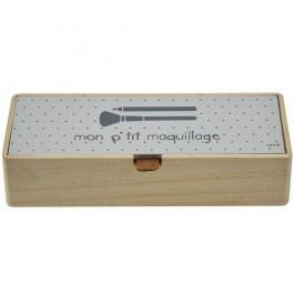 Dřevěný box na kosmetické pomůcky Incidence Maquillage
