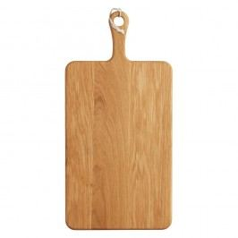 Prkénko z dubového dřeva Kitchen Craft Master Class,53x26cm