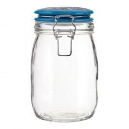 Uzavíratelná sklenice Premier Housewares Pretty Things, 1l
