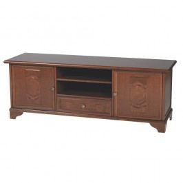 TV stolek v barvě ořechu Folke Poeca