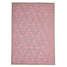 Vysoce odolný koberec vhodný i do exteriéru Webtappeti Fiore,160x230cm
