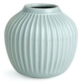 Mentolově modrá kameninová váza Kähler Design Hammershoi,výška 12,5 cm Vázy, sošky, květináče