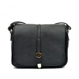 Černá kožená kabelka Renata Corsi Venita