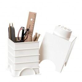 Bílý úložný box LEGO® Úložné krabice akošíky