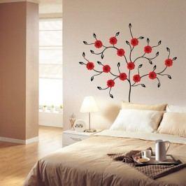 Samolepka Ambiance Red Gerbera Tree