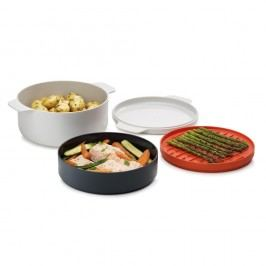 4-dílná sada nádobí na jídlo vařené v mikrovlnce Joseph Joseph M-Cuisine