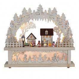 Svítící dekorace Best Season Village Candle
