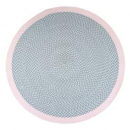 Dětský ručně vyrobený koberec Nattiot Brenda Rose, ∅ 120cm