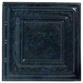 Modrá dekorativní dlaždice Nordal Deco Svícny adekorace