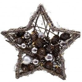 Svítící dekorativní hvězda Ego Dekor Winter Time