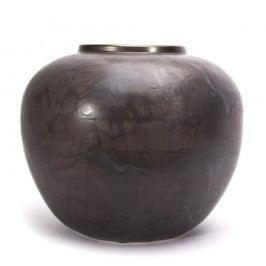 Černá váza NORR11 Jumba