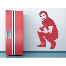 Samolepka na zeď Bruce Springsteen 001