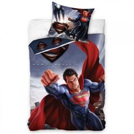 Tip Trade Bavlněné  povlečení Superman Man of Steel 140 x 200 cm, 70 x 90 cm