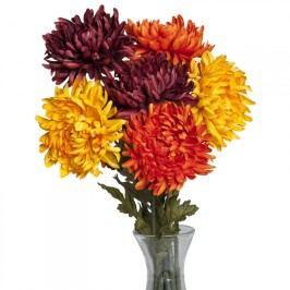Umělé květiny - Chryzantémy 3 ks