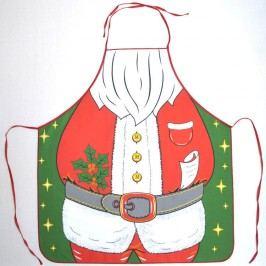 kuchyňská zástěra Santa