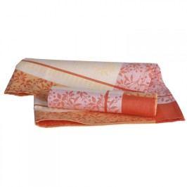 Olzatex Bavlněné kuchyňské utěrky oranžové 50 x 70 cm