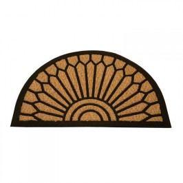 Kokosová rohožka Exotic půlkruh Bytový textil