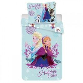 JERRY FABRICS Dětské ložní povlečení Frozen Holiday cheer 140 x 200 cm, 70 x 90 cm