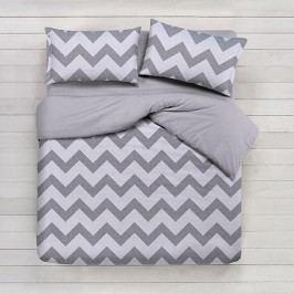 Gipetex Natural Dream povlečení bavlna Lux Chevronne béžová 140x200 70x90