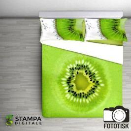 Gipetex Natural Dream 3D povlečení bavlna Kiwi digitální tisk 140x200 70x90