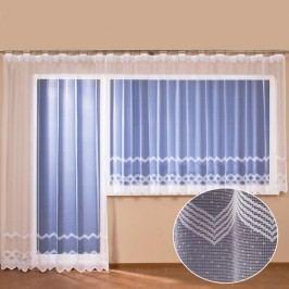 Hotová žakárová záclona Erin - balkonový komplet
