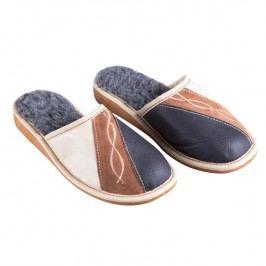Dámské pantofle s výšivkou vel. 37