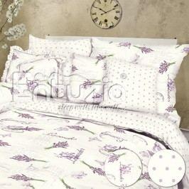 Bavlněné  povlečení Lavender white 2 ks 2x 140 x 220 cm, 70 x 90 cm