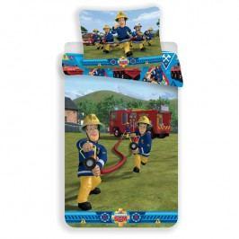 Dětské ložní povlečení požárník Sam 140 x 200 cm, 70 x 90 cm Dětské povlečení