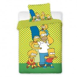 Dětské ložní povlečení Simpsons 2017
