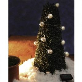 Vánoční řetěz se solárními světýlky