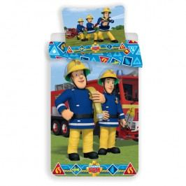 Dětské ložní povlečení požárník Sam s kamarády 140 x 200 cm, 70 x 90 cm