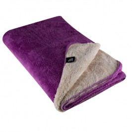 Oboustranná deka Ovečka fialová