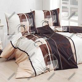 Matějovský  povlečení Jamisson béžové bavlna 140 x 200 cm, 70 x 90 cm
