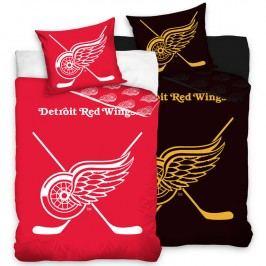 Bavlněné ložní povlečení NHL Detroit Red Wings 140 x 200 cm, 70 x 90 cm
