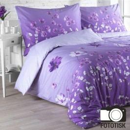Bavlněné  povlečení Violeta 140 x 200 cm, 70 x 90 cm